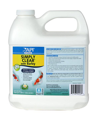API PondCare Simply Clear with Barley 1.89Litre