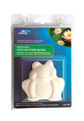 AQUAPRO Bionatural Feature Pond Block with Mosquito Repellent 35
