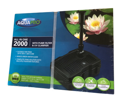 AquaPro 2000 All-in-one Pump and Filter System Medium
