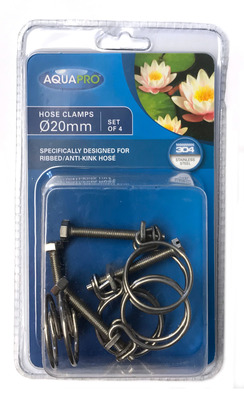AquaPro Hose Clamps for 20mm Antikink hosing