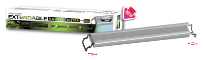 Aqua Zonic Super Bright Extendable LED Light Freshwater and Planted Tank 40-55cm 15.72watts
