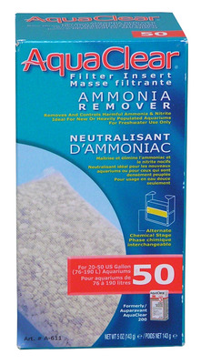 AquaClear 50 Ammonia Remover Hang On Filter Media