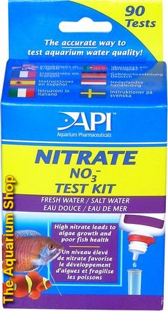 API Fresh and Saltwater Nitrate Test Kit