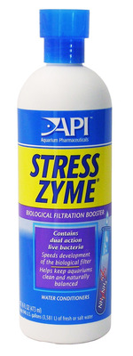 Aquarium Pharmaceuticals API Stress Zyme Plus 473mL
