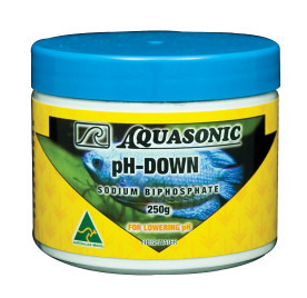 Aquasonic pH Down Powder 250g