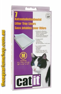 Catit Cat Pan Liners Medium x 7