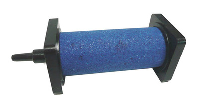 Cylinder Air stone 30mm dia x 75mm BLUE