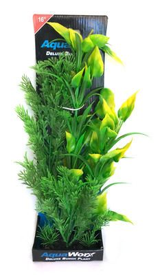 Deluxe Bunch Plant (22inch) Bush/Yellow Tip Leaves