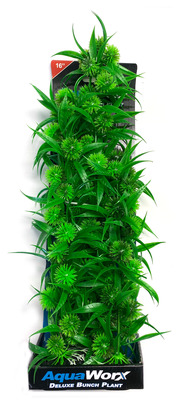 Deluxe Bunch Plant 16inch Grass/Green flower