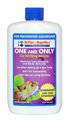 Dr Tim's Aquatics One and Only Nitrifying Bacteria for Freshwater Aquaria 120ml (4oz)