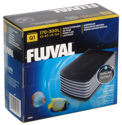 Fluval Q1 Aquarium Air Pump Double Outlet The Aquarium