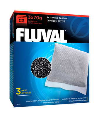 Fluval Activated Carbon for C3 Power Filter