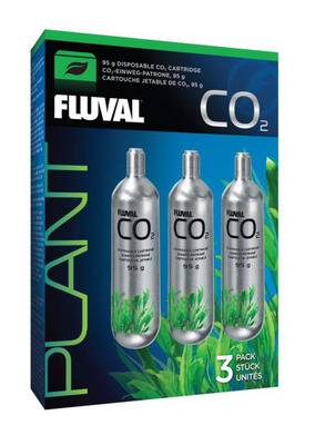 Fluval CO2 Kit Refill Cartridge 95gm 3 units
