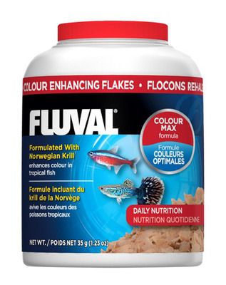 Fluval Colour Enhancing Fish Flakes 32g