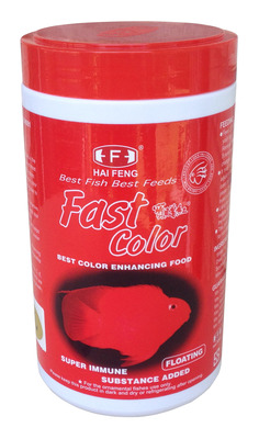 Hai Feng Fast Colour Tropical Large Pellet 450g