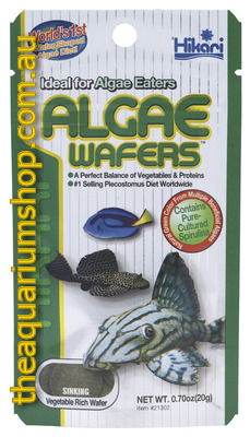 Hikari Algae Wafer Fish Food 20g