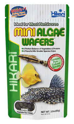 Hikari Mini Algae Wafer Fish Food 85g