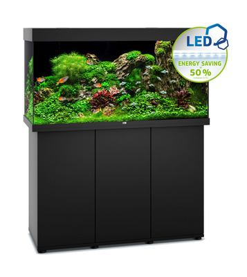 Juwel Rio 350 Aquarium LED Tank and Cabinet Package