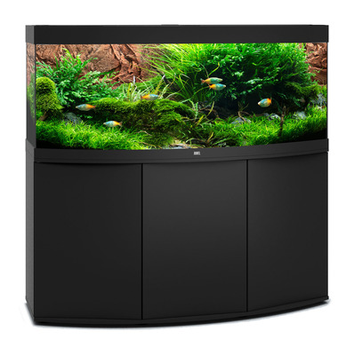Juwel Vision 450 LED Curved Glass Aquarium Tank and Stand Package