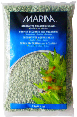 Marina Decorative Aquarium Gravel 2kg Lime
