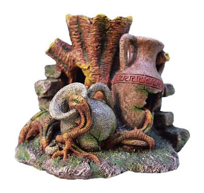 Middle Earth Urn with Tree Trunk Medium