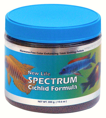 New Life Spectrum Cichlid Formula Fish Food 300g