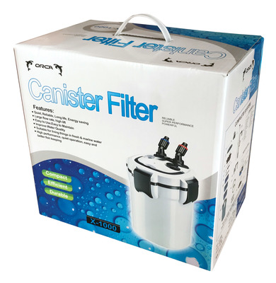 Orca X-1000 Aquarium Canister Filter 1050L/hr White