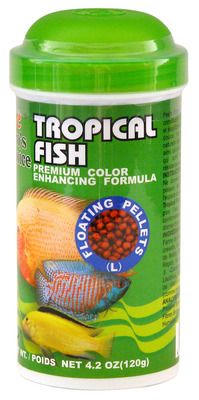 Pro's Choice Tropical Fish Food Large Floating pellets 120g