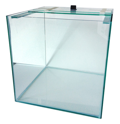 Standard Glass Aquarium Cube Tank<br>12 x 12 x 12inches