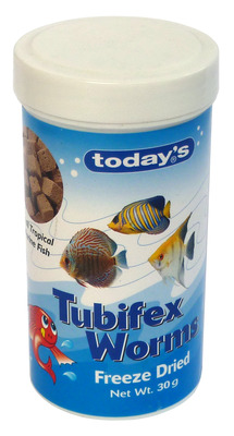 Todays Tubifex Worms 30g
