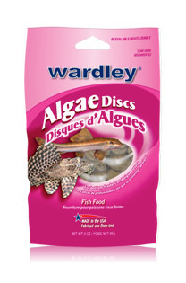 Wardley Algae Discs Fish Food 85g