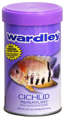 Wardley Premium Cichlid Flakes Fish Food 25g