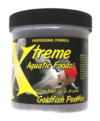 Xtreme Goldfish Peewee Fish Food 297g