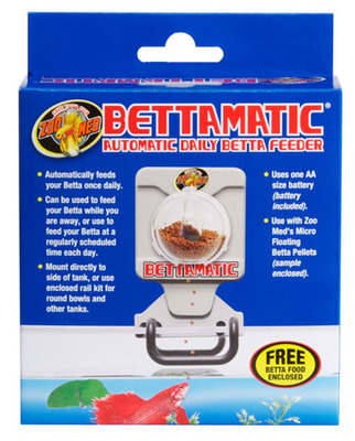 Zoo Med BettaMatic Automatic Betta Feeder