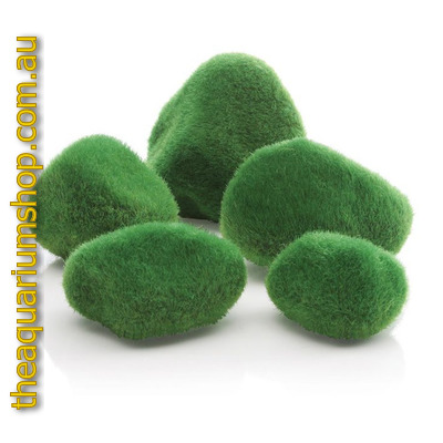 biOrb Moss Pebbles Green Set 5