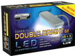 Aqua Zonic Super Slim Double Bright  LED Clamp Light Black 15+3 Bulb