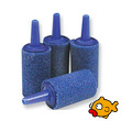 Blue Aquarium Air Stone Cylinder 14x25mm length