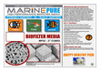 CerMedia MarinePure MP2C Biofilter Media 2inch cube