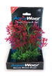Deluxe Bunch Plant 6inch Green grass/Purple flowering bush