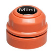 Mini Floating Magnet Fish Tank Cleaner Orange 4cm