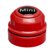 Mini Floating Magnet Fish Tank Cleaner Red 4cm