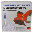 KiS Goldfish Bowl Undergravel Aquarium Filter 10cm (4 inch) diameter
