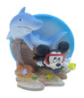 Mickey Mouse Friends Ornament  Mickey Shipwreck with Shark