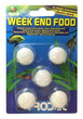 Prodac Weekend Fish Food Block 21g