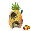 Penn-Plax Spongebob Squarepants Resin Replica Spongebob Pineapple Home Large