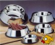 Stainless Steel Puppy Anti-Skid Bowl Silver 237ml - 16cm