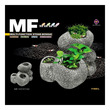 Up Aqua Ceramic Bonsai Stone Large Multi-Function Ornament