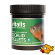 Vitalis Aquatic Nutrition Central/South American Cichlid Pellets 120g S
