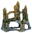 Water Works Mountain Castle Aquarium Castle Ornament 15x28x25cm h