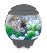 biOrb Halo Circular Aquarium 15 Litre MCR Gloss Grey